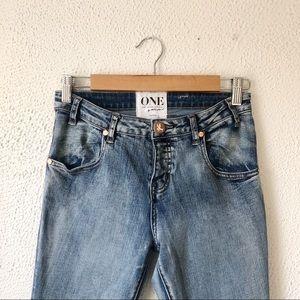 One Teaspoon Jeans - One by One Teaspoon | Yard Birds Skinny Jeans 27
